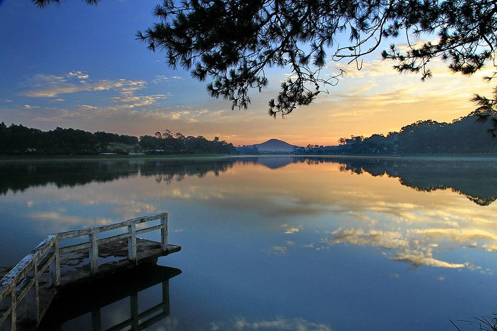 Mộng mơ danh thắng Hồ Nam Phương ở Bảo Lộc